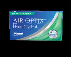 Air Optix Plus HydraGlyde for Astigmatism 3pcs.