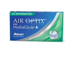 Air Optix Plus HydraGlyde for Astigmatism 3 Stck.