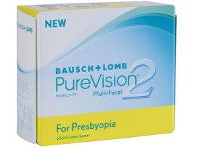 Kontaktlinsen PureVision 2 for Presbyopia MultiFocal  6 Stck.