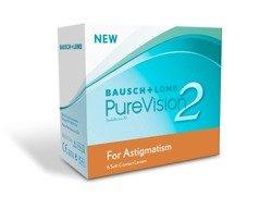 Kontaktlinsen PureVision for Astigmatism 2HD 3 Stck.