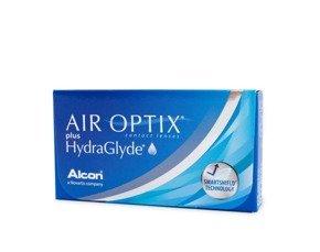 Soczewki Air Optix Plus HydraGlyde 3szt.