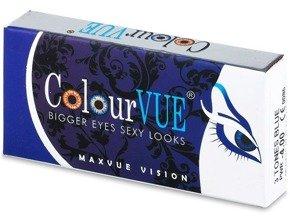 Soczewki Kolorowe ColourVue 3 Tones (moc 0,00) 2szt.